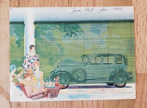 1929 Studebaker Dictator Eight Sales Folder