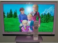 "23"" ETERNITY LCD TV DVD COMBO PINK"