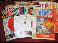 From The Writers Of 2000AD (Back to the 1980's) Comes Crisis AND Dice Man