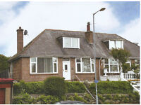 Three bed, semi-detached house: exceptionally SPACIOUS (130 sq mtr), beautiful pink-granite home