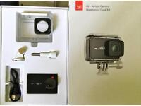 YI 4K + Action Camera Waterproof Case Kit