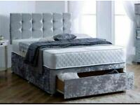 BEDS- UK 🇬🇧 - FREE DELIVERY- NEW DIVAN