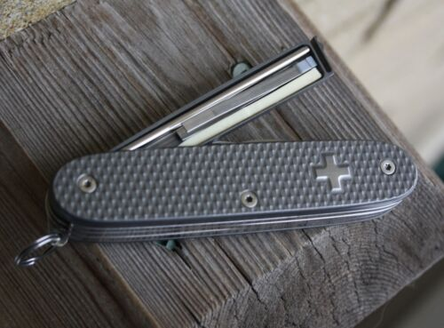 Custom Titanium Pioneer X with Drawer Swiss Army Knife Mod