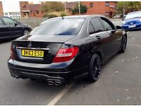 2013 Mercedes C220 Facelift C63 Replica