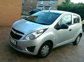 Chevrolet Spark 2012 now reduced to £2495, 12months test, 53k miles only £30 a year tax,