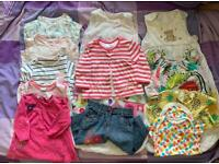 Bundles of Baby girl clothes 6-9