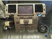 Vauxhall CD70 navi sat nav/mp3 with colour screen .CD 70