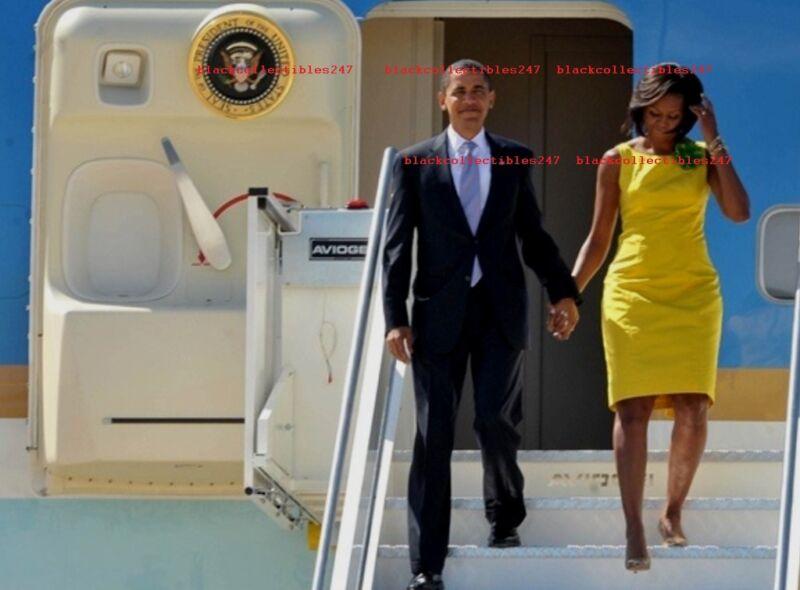 PRESIDENT BARACK OBAMA Photo 8x10 Michelle Obama Democrat Memorabilia
