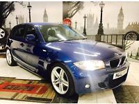 ★🎈FINANCE ME🎈★ 2010 BMW 1 SERIES 120D M-SPORT DIESEL★ 63K MILES★ MOT FEB 2018★ CAT-D ★KWIKI AUTOS★
