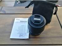 Nikon Nikkor 85mm advanced telephoto macro lens.