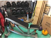 Complete home gym dumbbell set