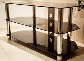 Glass TV/AV stand/display unit