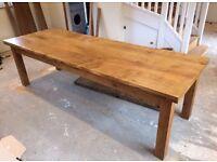 Handmade Devon Oak Dining Table