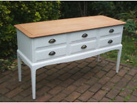 Vintage Mahogany Dressing Table / Drawers - Stag Minstrel - Shabby Chic - Can Deliver