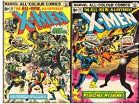 UNCANNY X-MEN COLLECTION SALE 96 – 144 + ANNUALS ETC