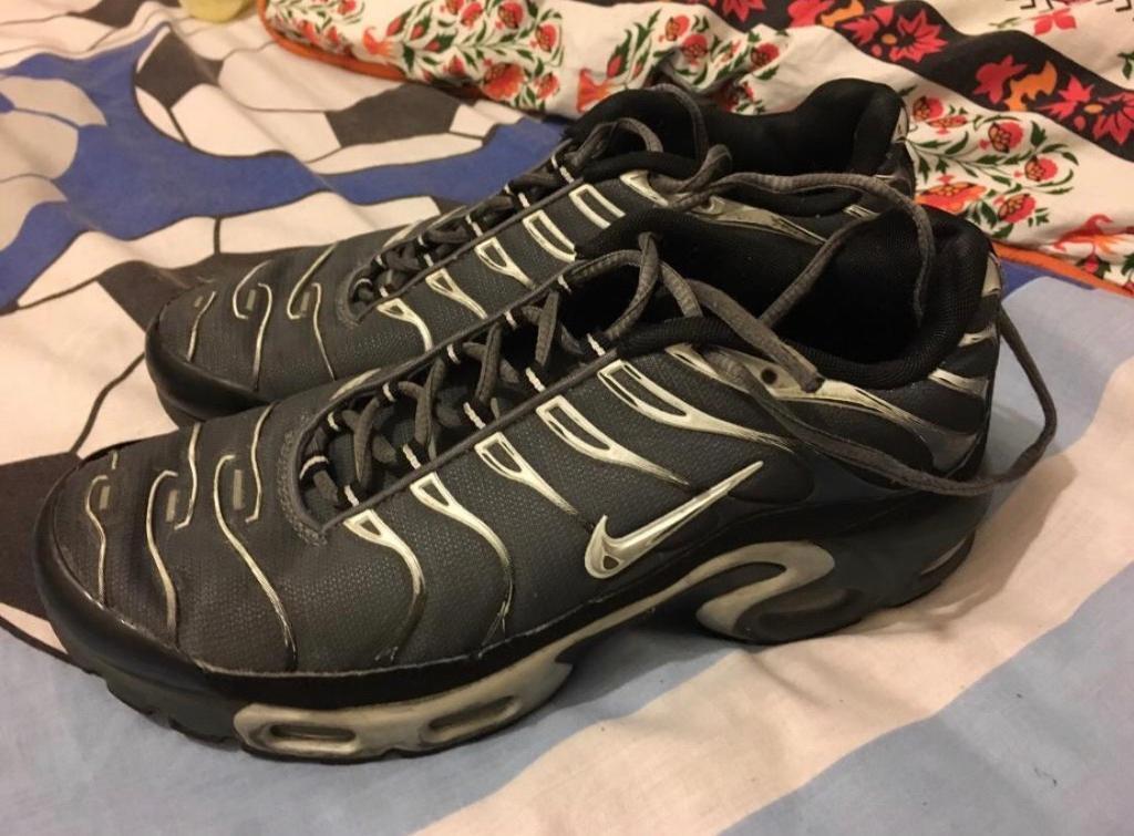 finest selection 931dd 1fe6a Nike Air Max Tns Size 8 Silver /Grey/ Black 07984267753 | in Leyton, London  | Gumtree