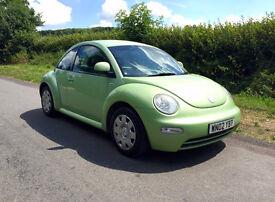 2002 Volkswagen Beetle Long MOT!! Full History!! Lovely Bright Car!!