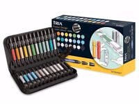 Letraset 3 Tip Tria Markers - Product Design