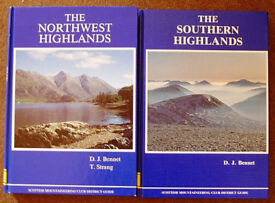 Scottish Mountaineering Club's famous hiking books