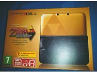 Nintendo 3DS XL Legend of Zelda a link between worlds limited edition