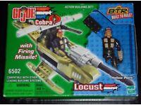 G. I. Joe 'Locust Hollow Point' Action Building Set (new)