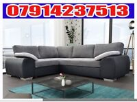 THIS WEEK SPECIAL OFFER BRAND NEW ENZO SOFA BED IN CONTRASTING COLOUR AVAILABLE 5684