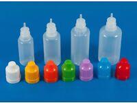 15ml empty plastic bottles. for arts & crafts, glue, e-cig juice, etc (55p per unit!!!!)