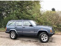 Jeep Cherokee XJ (Discovery/Defender) 60th Anniversary 2.5 TDi. Leather. Only 92000 Miles. Long MOT