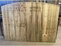 🚀Excellent Quality Arch Top Feather Edge New Fence Panels • Heavy Duty