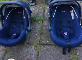 Car seat and baby carrier