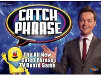 Wanted Catch Phrase Game
