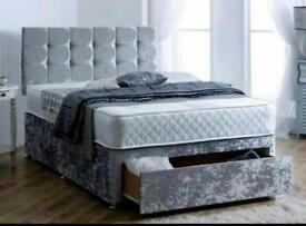 BEDS - uk - LUXARY DIVAN - FREE DELIVERY