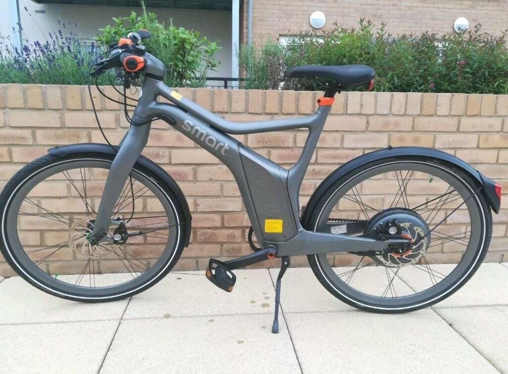 Smart ebike Mercedes Benz Electric bicycle grey | in Heathrow, London |  Gumtree
