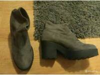 New look ladies size 8 boots