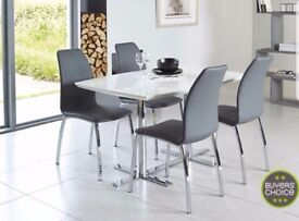 Used Alaska dining table and chairs