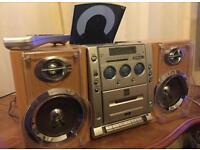 Bush MCD07DAB - CD, DAB/FM/MW Radio, Cassette Player