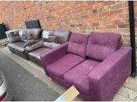 3 x sofas - all FREE - Chorley Collection
