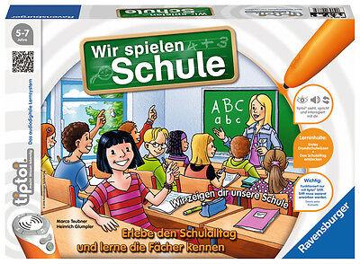 Ravensburger tiptoi Lernspiel Wir spielen Schule 00733
