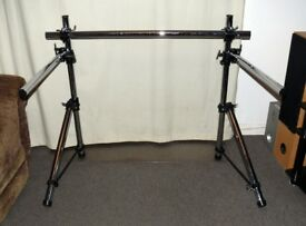 Drum racks - roland and dixon frames stands clamps rods mounts hardware etc