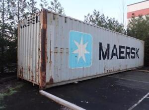 40' High Cube Shipping Container (Damaged)*When Available*