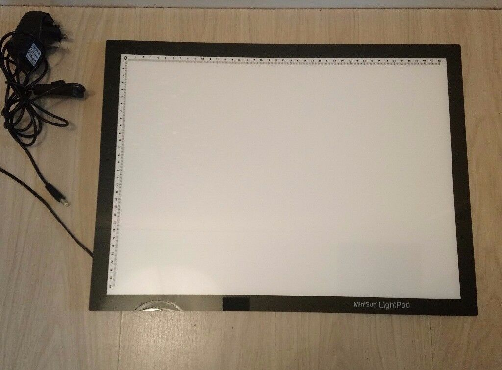 Never Used. MiniSun A3 LightPad. Excellent condition