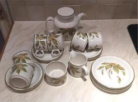 Barrett's of Staffordshire tea set