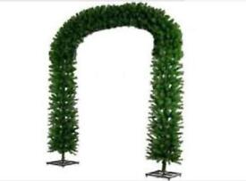 Christmas tree arch decoration 8.5ft