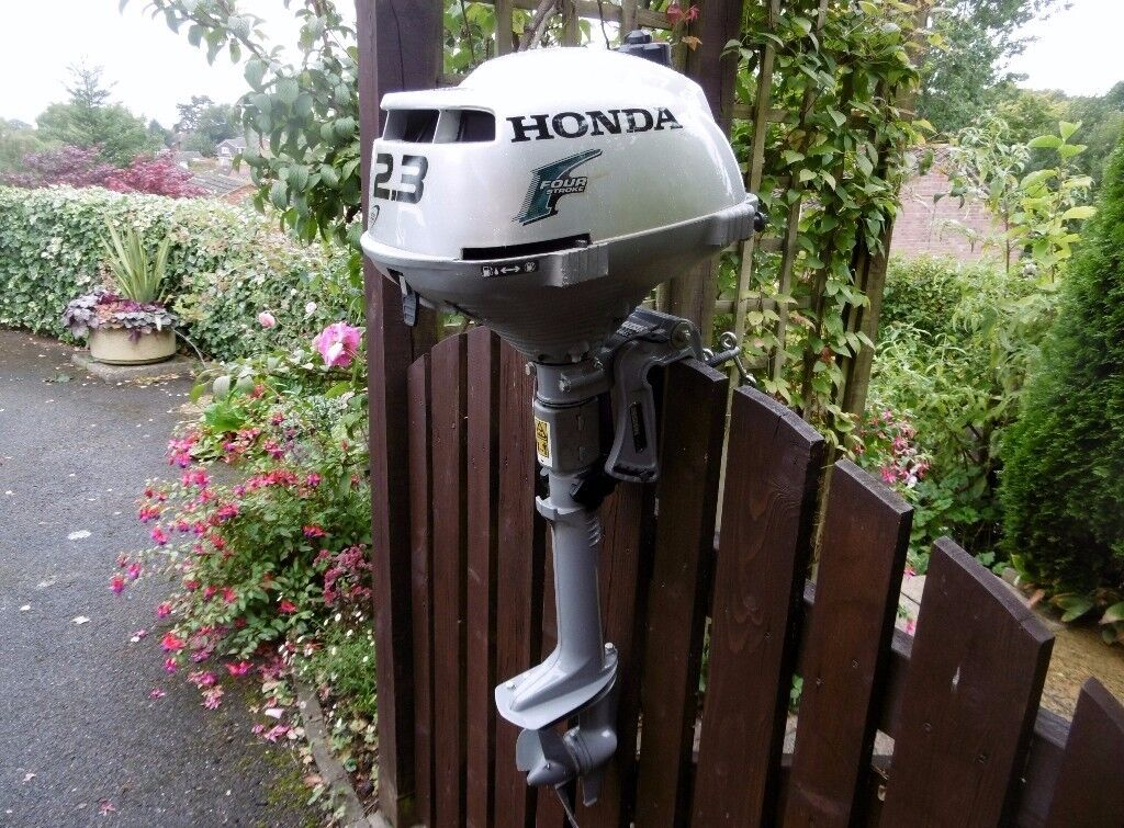 honda bf2 3d 2 3 hp 4 stroke outboard in farnham surrey. Black Bedroom Furniture Sets. Home Design Ideas