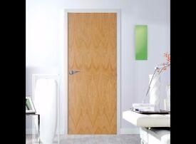 Flush Ply Veneer Internal Fire Door, (H)2040mm (W)726mm, BRAND NEW, only £25.00 each, Collect ASAP