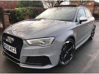2016 AUDI RS3 NAV FULL SERVICE EVERY EXTRA 2 KEYS 5Dr GREY