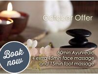 OCTOBER SPECIAL @Aga&Ola Massage&Beauty