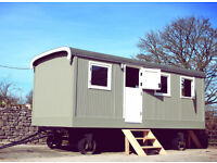 Vintage Dutch Circus Wagon (shepherds hut, tiny home, cabin, studio, glamping)