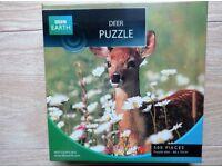 BBC Earth Deer Jigsaw Puzzle 500 piece