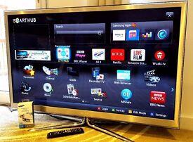 "Samsung PS51D8000 51"" Full HD 1080p Smart 3D TV / Freeview HD + Freesat HD/ Wi-Fi / Recordable"
